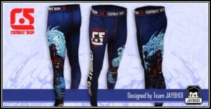 combat skin samurai tights
